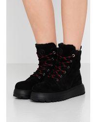 Bogner Antwerp - Platform Ankle Boots - Black