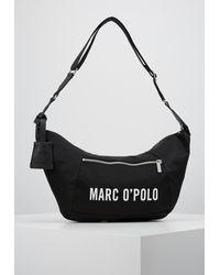 Marc O'polo HOBO BAG - Sac bandoulière - Noir