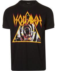 DSquared² Triangle Logo T-shirt - Black