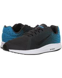 sale retailer 4691e 4ba31 Nike - Downshifter 8 (wolf Grey black volt white) Men s Running