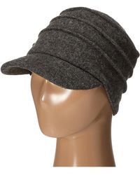 051ccbe7ef9 San Diego Hat Company - Sdh0518 Wool Cadet With Right Side Flower  (charcoal) Caps