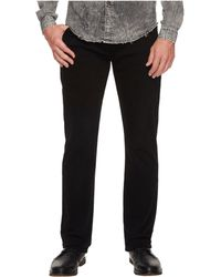 7 For All Mankind - The Straight In Annex Black (annex Black) Men's Jeans - Lyst