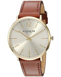 COACH - Ultra Slim 40mm (parchment) Watches - Lyst