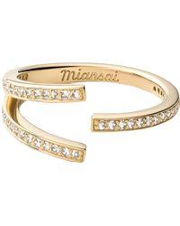 Miansai Orbit Ring - Metallic