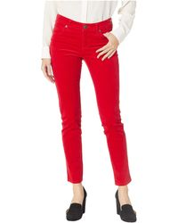 Kut From The Kloth - Diana Skinny Jeans In Red (red) Women's Jeans - Lyst
