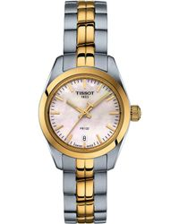 Tissot - Pr 100 Lady Small - T1010102211100 (gold/silver) Watches - Lyst