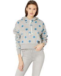c5516585bc926a Converse - X Hello Kitty Boxy Pullover Hoodie (vintage Grey Heather) Women s  Sweatshirt -