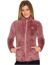 The North Face - Osito 2 Jacket (black Plum) Women's Coat - Lyst