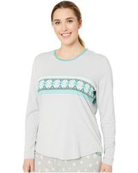 Aventura Clothing - Plus Size Nordic Border Long Sleeve Shirt (high-rise) Women's Pajama - Lyst