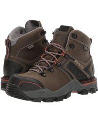 Irish Setter - Crosby 6 Waterproof Hiker (grey/black) Women's Work Boots - Lyst