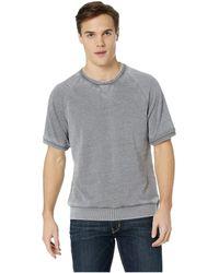 Alternative Apparel Co-ed Short Sleeve Sweatshirt - Natural