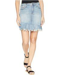 Sam Edelman The Karol Skirt In Fannie (fannie) Skirt - Blue
