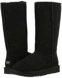 UGG - Classic Tall Ii (black) Women's Boots - Lyst