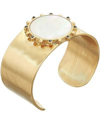 Lucky Brand Gold-tone Mother-of-pearl Cuff Bracelet - Metallic