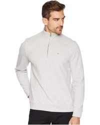 Calvin Klein - The Classic 1/4 Zip (black) Men's Clothing - Lyst