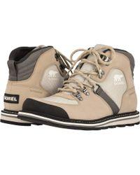 Sorel - Madsontm Sport Hiker Waterproof (black) Men's Lace-up Boots - Lyst