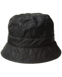 San Diego Hat Company Sdh3402 Quilted Rain Hat Caps - Black