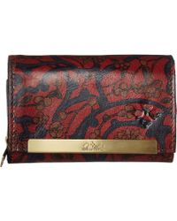 Patricia Nash - Cametti Wallet (vintage Tapestry Print) Wallet Handbags - Lyst