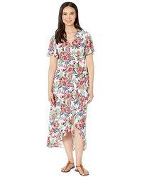 b4ddda3fad77a La Blanca Sorrento Embellished Tunic Dress Cover-up - Lyst
