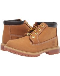 Timberland Womens Nellie Double Wp Boots - Brown