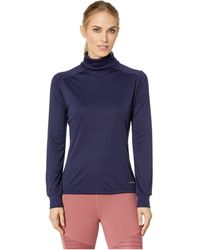 Hot Chillys Peachskins Roll T-neck - Blue