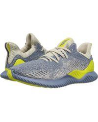adidas Originals - Alphabounce Beyond (raw Steel/raw Grey/shock Yellow) Men's Running Shoes - Lyst