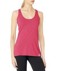 Champion Authentic Originals Triblend Jersey Swing Tank Top - Red