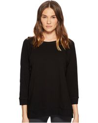 Eileen Fisher - Bateau Neck Box-top - Lyst