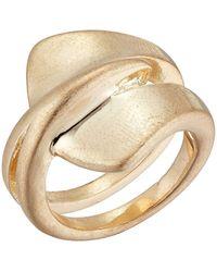 Robert Lee Morris Sculptured Ring - Metallic