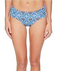 Tommy Bahama - Tika Tiles Reversible High-waist Shirred Bikini Bottom - Lyst