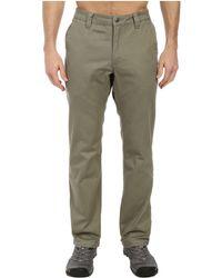 Mountain Khakis - Slim Fit Teton Twill Pant (retro Khaki) Men's Casual Pants - Lyst