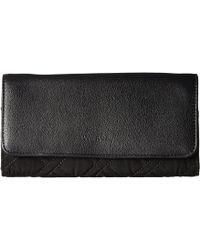 Vera Bradley - Rfid Audrey Wallet (classic Black) Wallet Handbags - Lyst