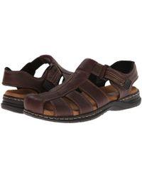 Dr. Scholls - Gaston (briar Brown) Men's Sandals - Lyst