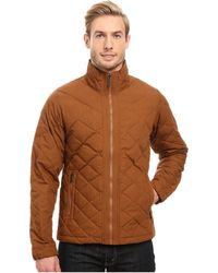 Nau - Intersect Utility Down Sweater (frond) Men's Sweater - Lyst