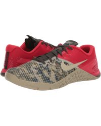 25957a3cbb9e Lyst - Nike Metcon 4 Xd (sequoia university Red olive Canvas) Men s ...