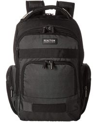 Kenneth Cole Reaction 17 Triple Compartment Rfid Computer Business Backpack - Gray