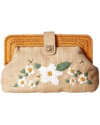 Betsey Johnson - Daisy'd & Confused Clutch - Lyst