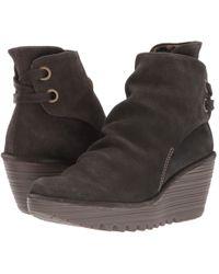 Fly London - Yama (sludge Oil Suede) Women's Shoes - Lyst