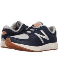 8c4f1b1d New Balance - Wlzantv2 (navy Fleece/nylon) Women's Running Shoes - Lyst