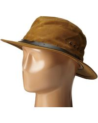 Filson Tin Packer Hat - Brown