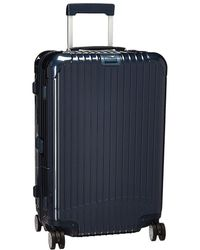 55ad3a39cec Rimowa - Salsa Deluxe - 26 Multiwheel(r) With Electronic Tag (yachting Blue