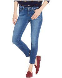PAIGE - Verdugo Ankle Petite W/ Raw Angled Back Hem In Braelynn (braelynn) Women's Jeans - Lyst