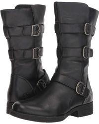 Born Ivy (black Full Grain) Dress Pull-on Boots