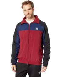 1ff39072c Protect Jacket (black/collegiate Navy/collegiate Burgundy) Men's Coat - Blue