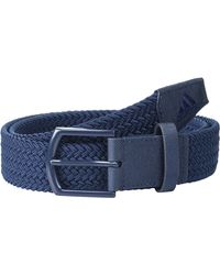 adidas Originals Braided Stretch Belt Belts - Blue