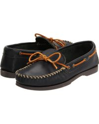Minnetonka - Camp Mocc (maple Smooth Leather) Men's Slippers - Lyst