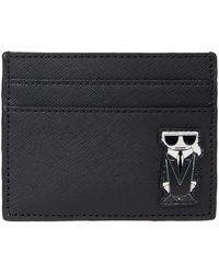 Karl Lagerfeld - Maybelle Small Leather Good Wallet - Lyst
