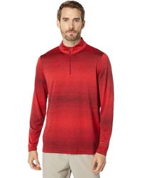 Oakley Contender 1/2 Zip Pullover - Red