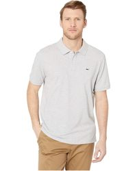 Vineyard Vines Stretch Pique Solid Polo - Gray