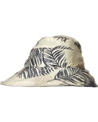 Jack Wolfskin - Wahia Palm Hat (dusk Blue All Over) Traditional Hats - Lyst